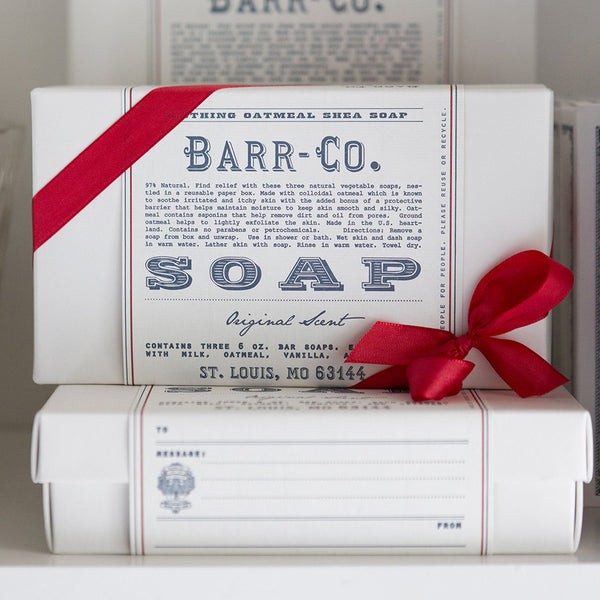 Barr-Co Trio Soap Gift Set