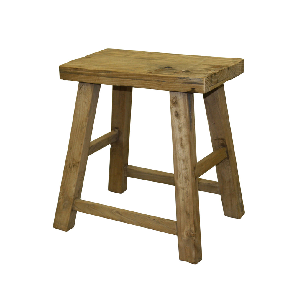 Stool Low Flat Rect