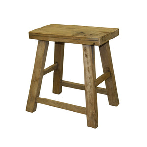 Low Flat Rect Stool