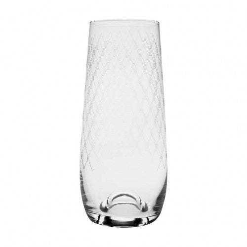 Stemless Champagne Glass Fishnet