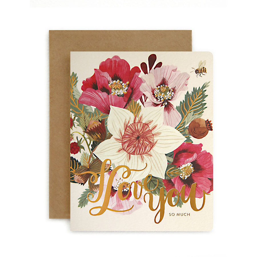 Folk I Love You Card