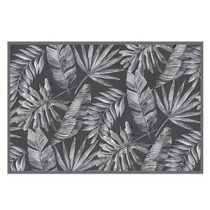Havana Palms Dark Denim Mat 68x101cm