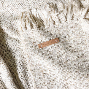 Naturelle Throw Ivory