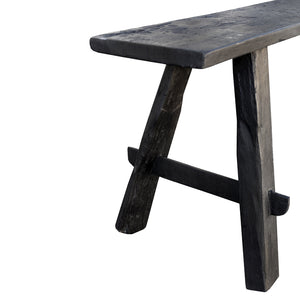 Narrow Bench Black