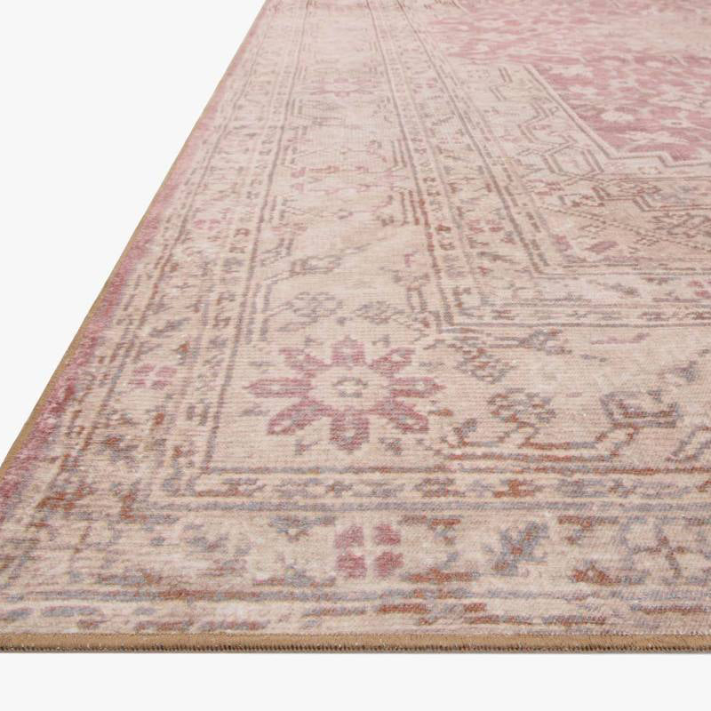 Pink Clay Ivory Rug