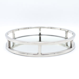 Art Deco Mirror Round Tray