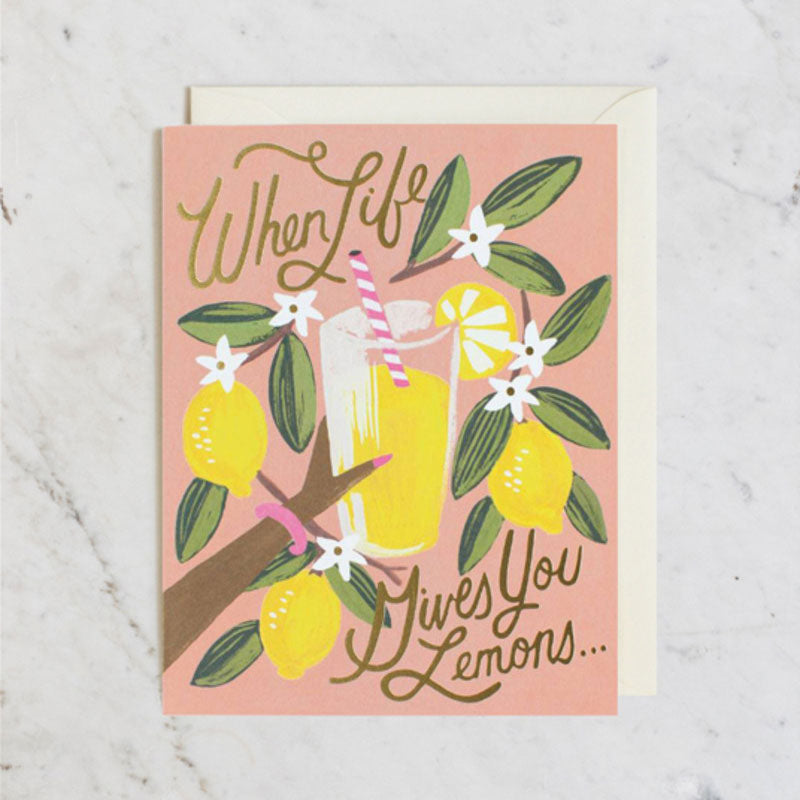 When Life Gives You Lemons Card