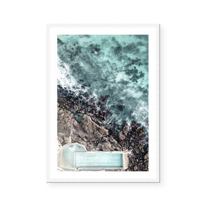 Rock Pool Bermagui Art Print