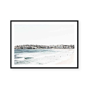 Summer Glare Landscape Framed Print