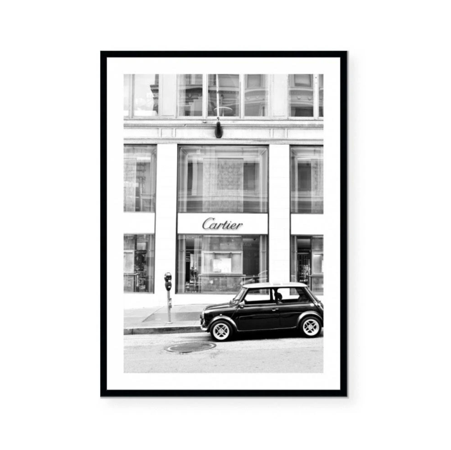 Black Mini Art Print