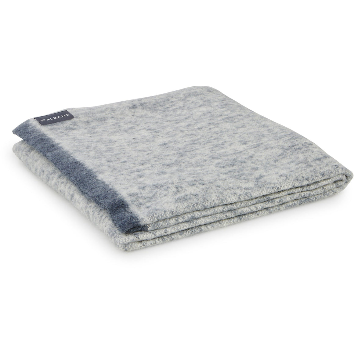 Alpaca Knee Rug Granite