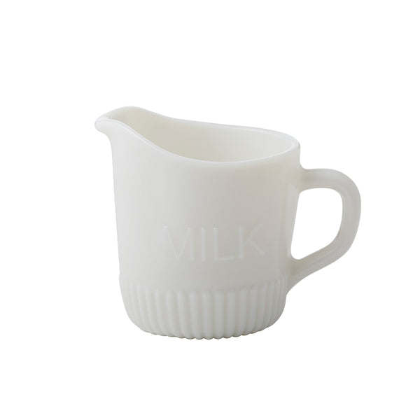 Heritage Milky Glass Milk Jug