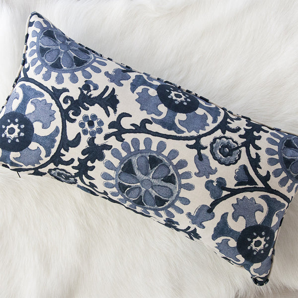 Suzani Navy Cushion