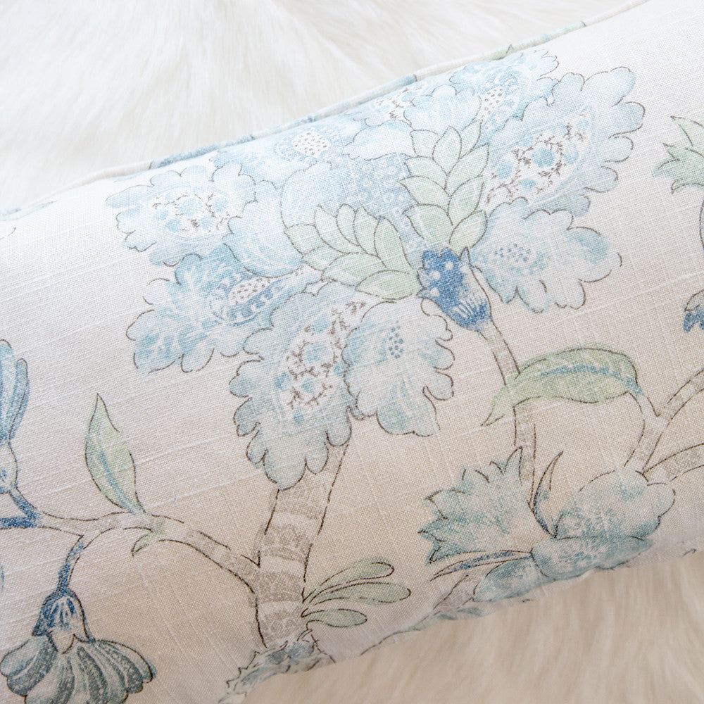 Charleston Aquamarine Cushion