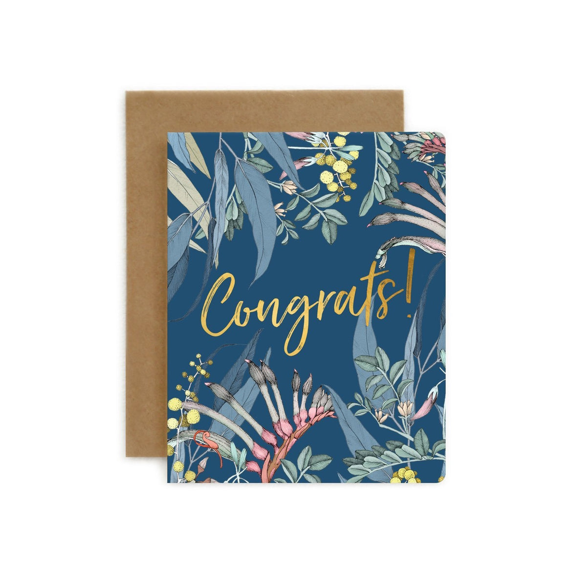 Native Congrats Card