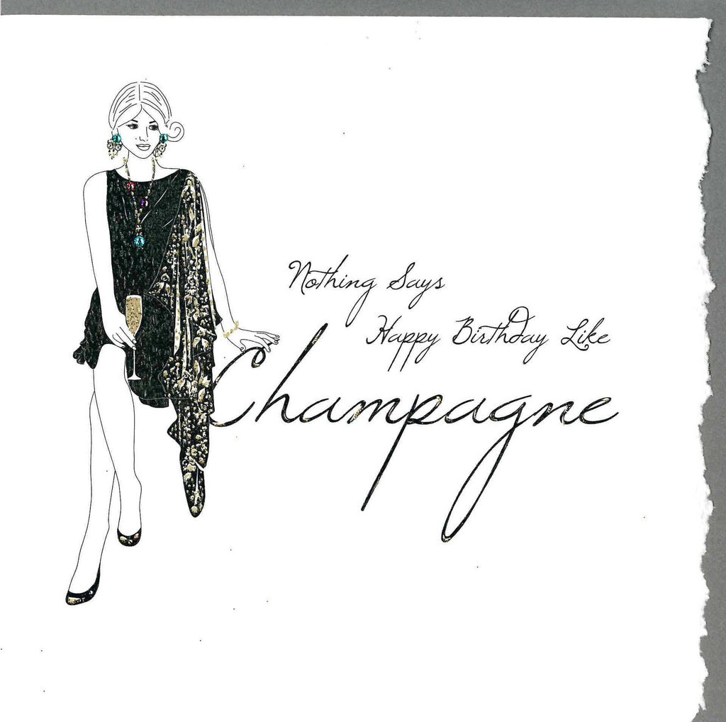 Happy Birthday like Champagne Card