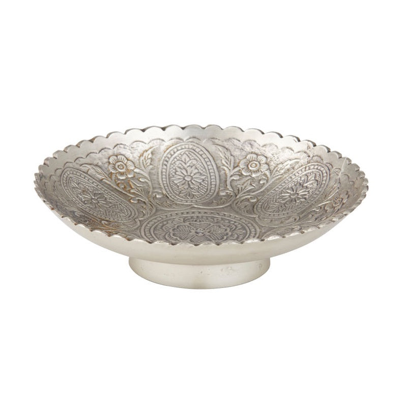 Heritage Brass Footed Bowl