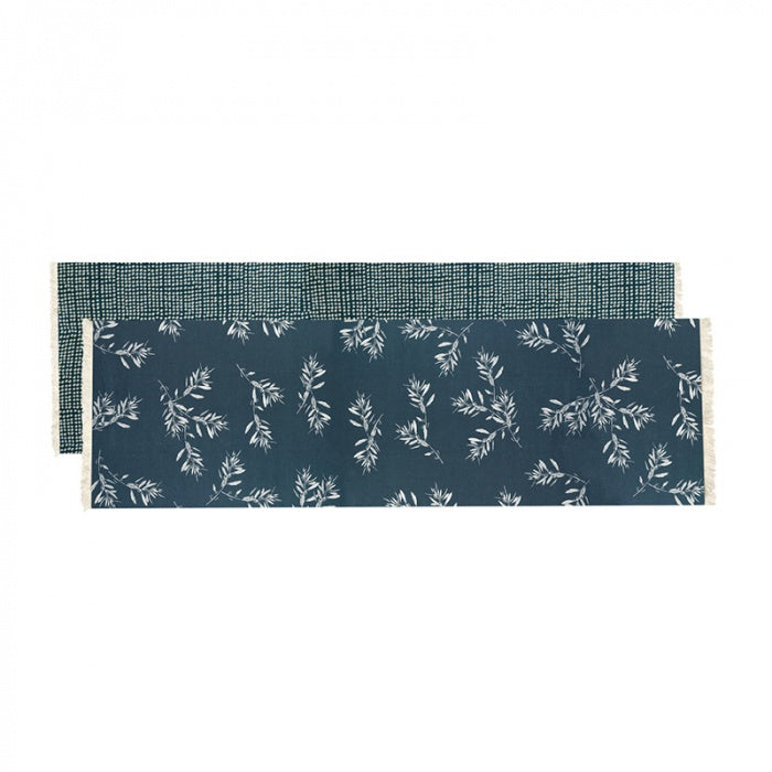 Olive Grove Table Runner Blue