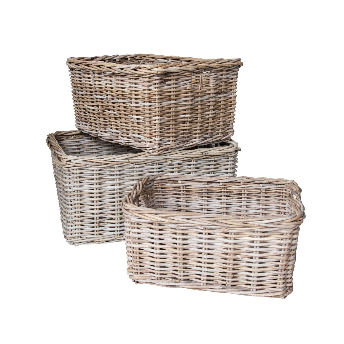 Rect Kabu Grey Drawer Basket