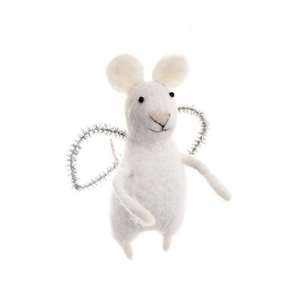 Mouse with Angel Wings