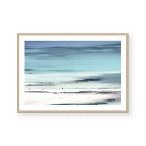Sand Bar Framed Print
