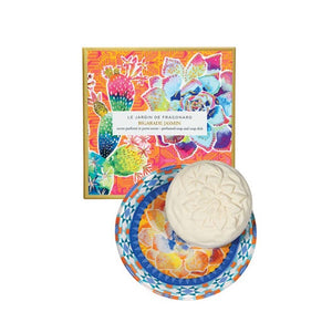 Bigarade Jasmin Soap and Dish Set