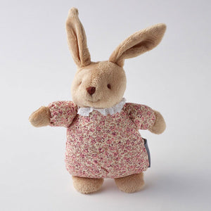 Floral Bunny Rattle