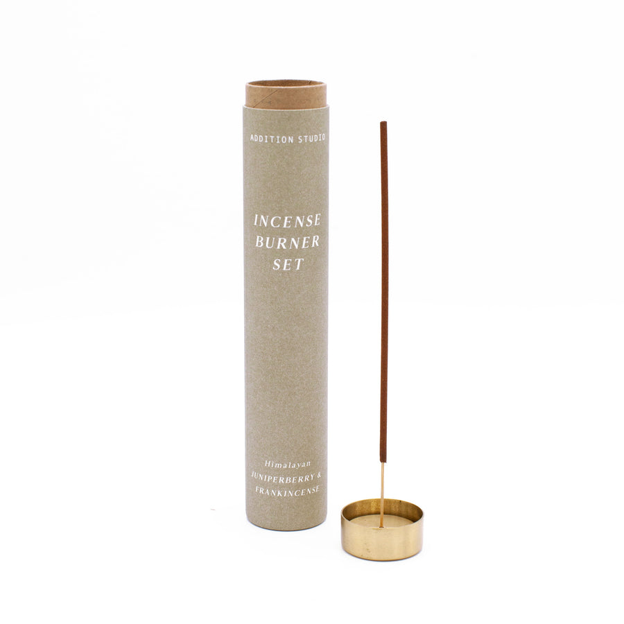 Incense Burner Set - Juniperberry & Frankincense