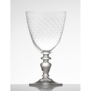 Elysee Fishnet Wine Glass
