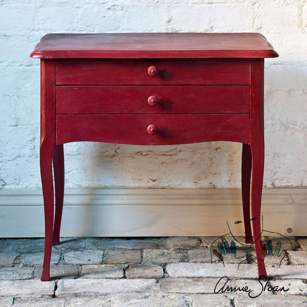 Chalk Paint Burgundy