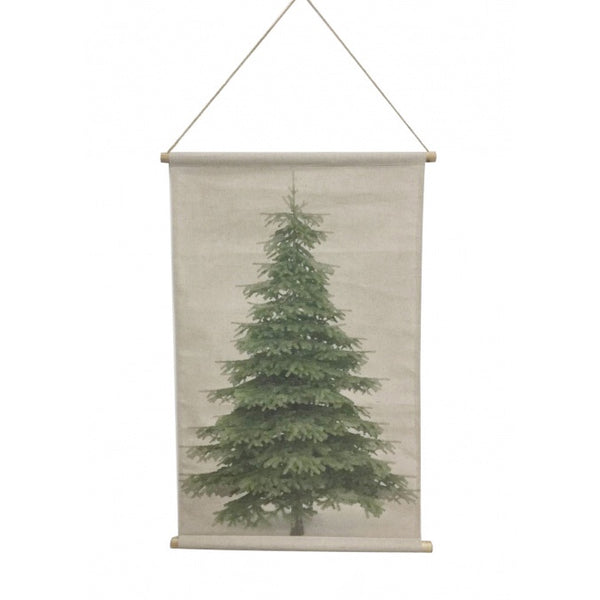 Christmas Tree Hanging Banner