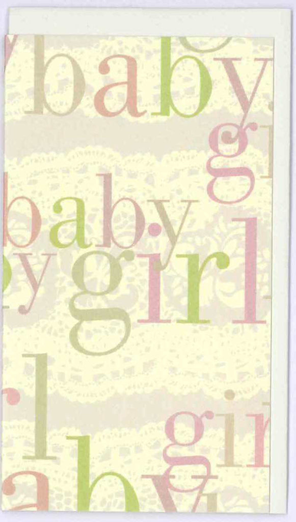 Baby Girl Mini Card