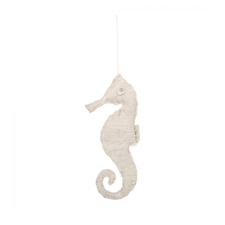 Seahorse Ornament Ivory