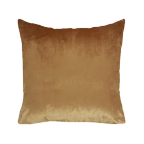Caramel Velvet Cushion
