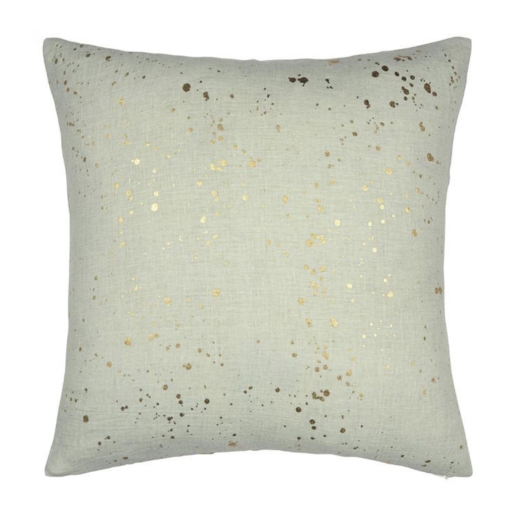 Designers Guild <br> Carrara Fiore Platinum Cushion 50x50cm