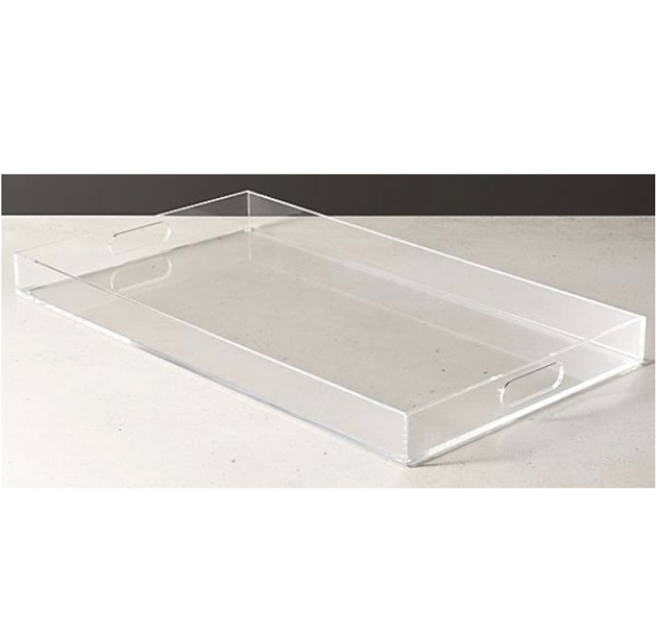 Acrylic Rectangle Tray