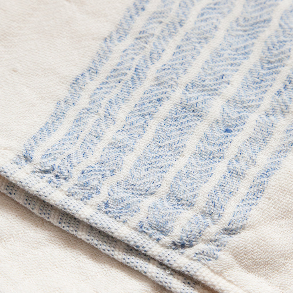 Flaxline Towels - Blue