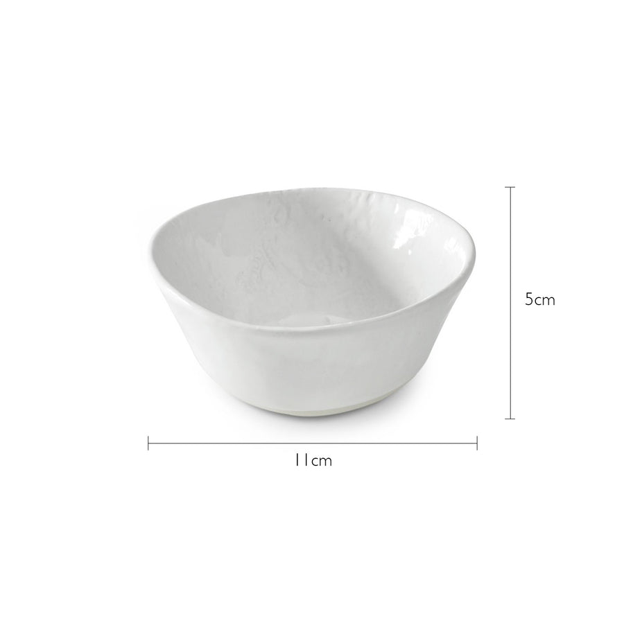 Condiment Bowl White Lace