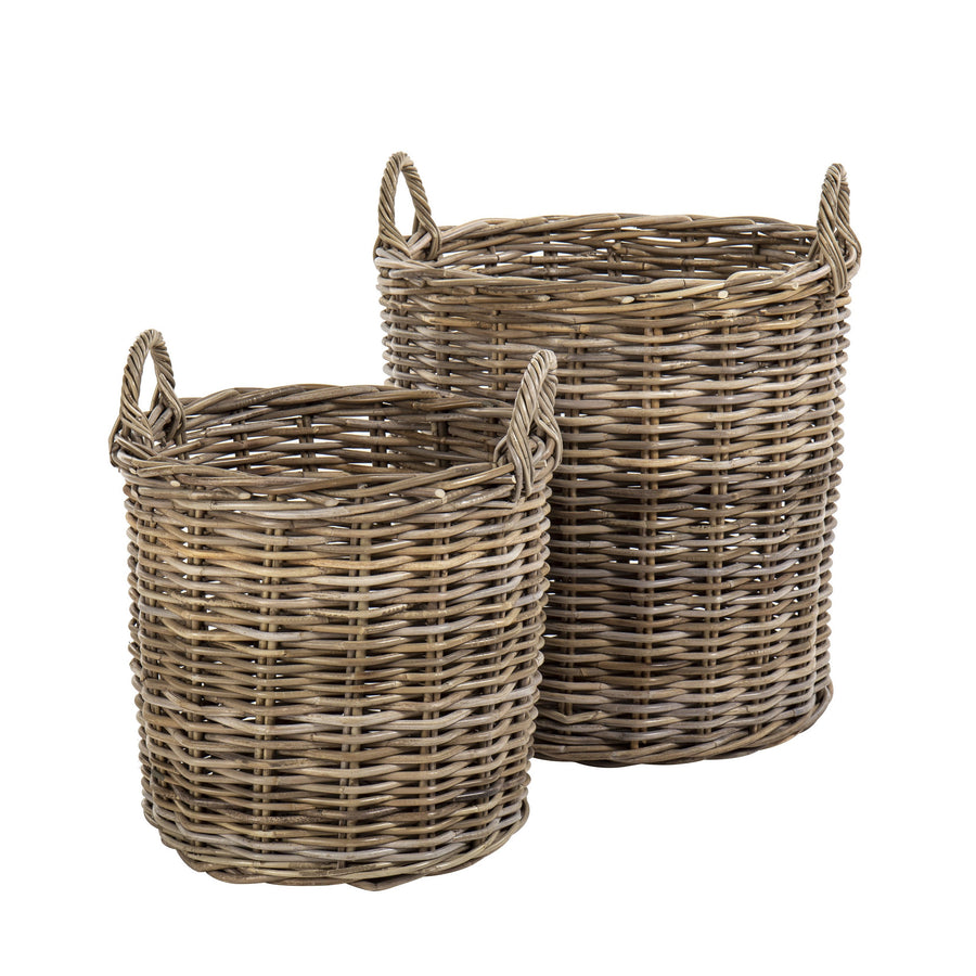 Aubusson Round Basket