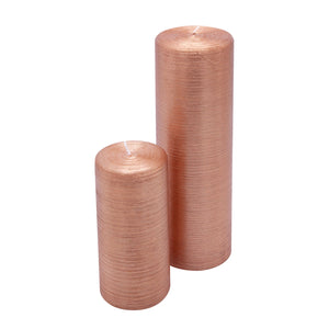 Pillar Candle Copper