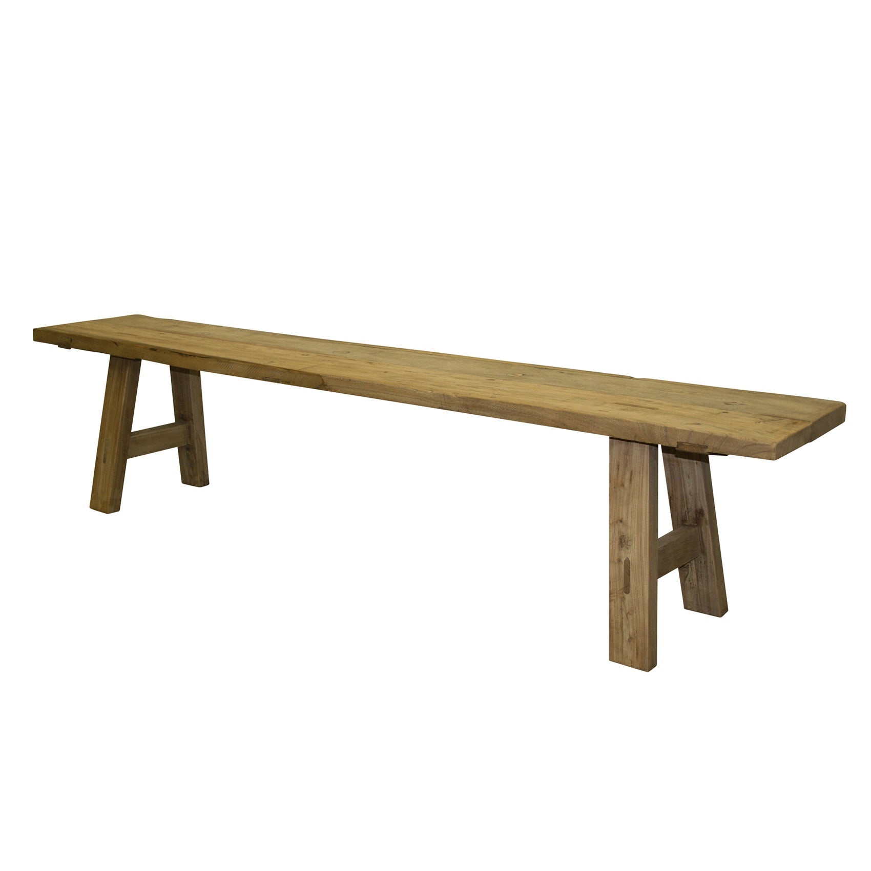 Elm Low Bench