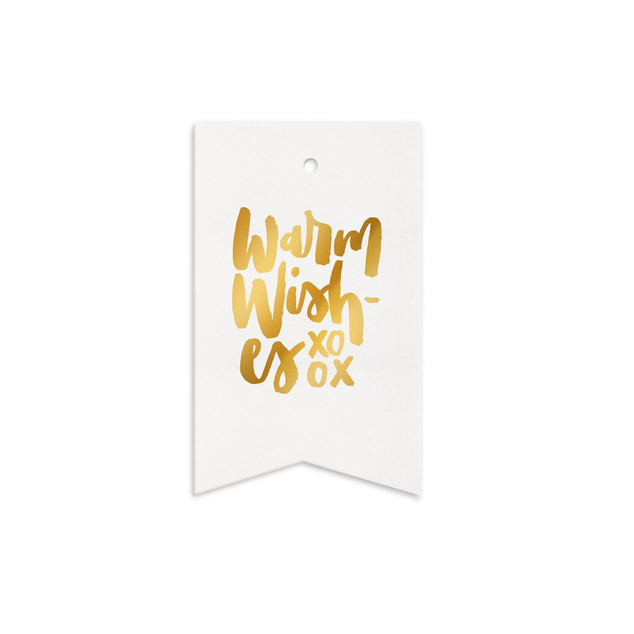 Warm Wishes Gift Tag