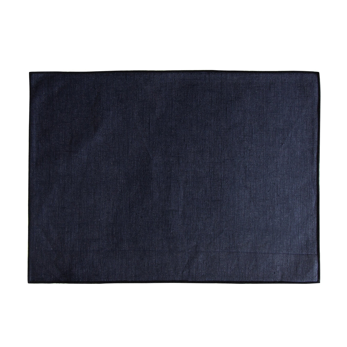 Coated Linen Placemat Indigo