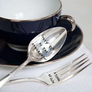 Every Good Cup Teaspoon/Cake Fork Set
