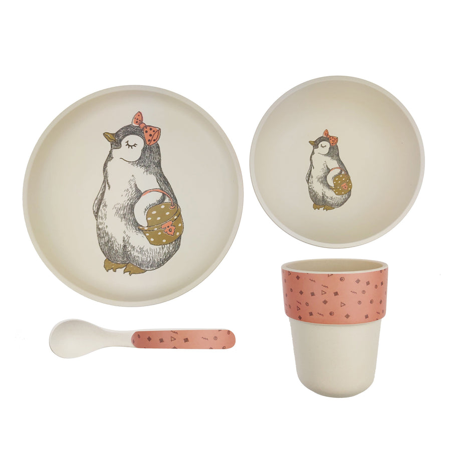 Penguin Bamboo Dining Set