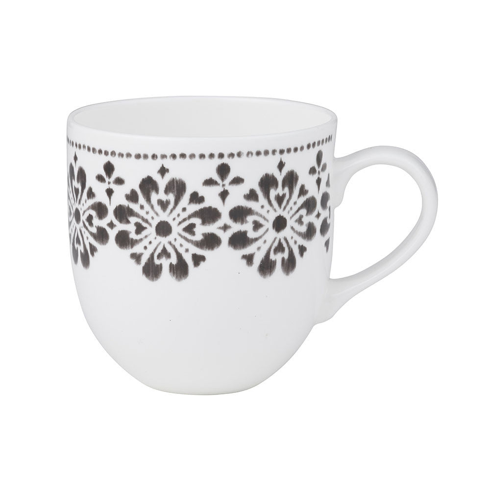 Tara Dennis Store - Victoria Mug - Black and White Design