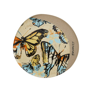 Bromley Butterfly Coaster Yellow