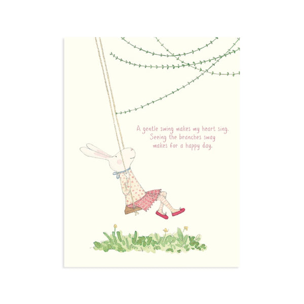 A Gentle Swing Card