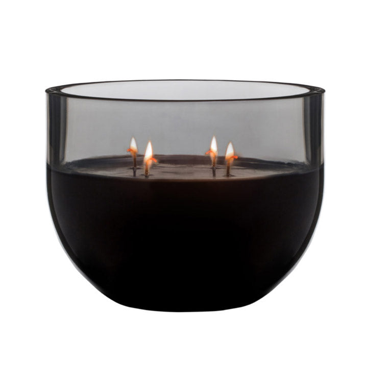 Scented Candle 15cm Lustre Black