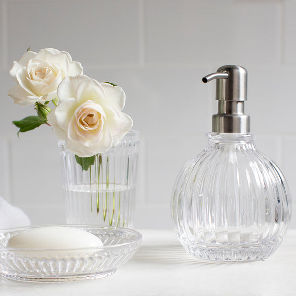 Heritage Glass Toothbrush Holder